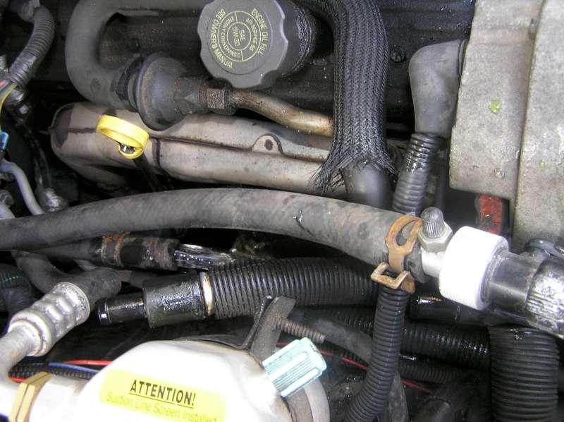 Flushing on Buick Terraza Engine Diagram
